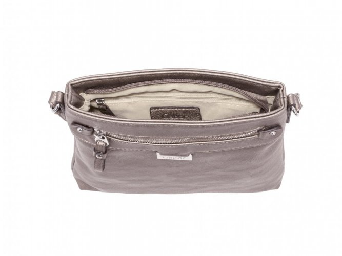 Ina crossbag old silver